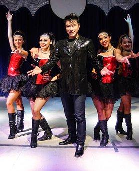 Magician, Circus, Ladies, Show