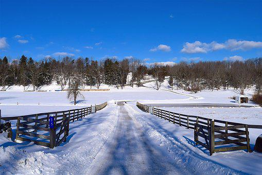 Snow, Fence, Rural, Winter, Cold, White, Frost, Season