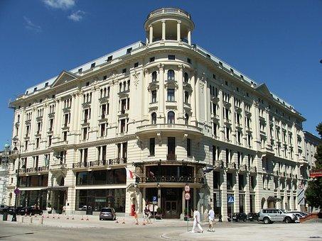 Krakow Suburb, Old Town, Hotel Bristol, Summer, Warsaw