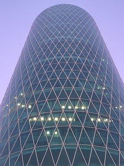 Westhafen Tower, Frankfurt, Hochaus, Facade, Glass