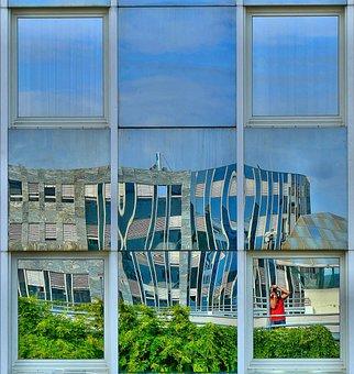 S Wpark, Architecture, Facade Mirror, Industrial Park