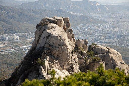 The City Of San, Mountain, Bukhansan Mountain