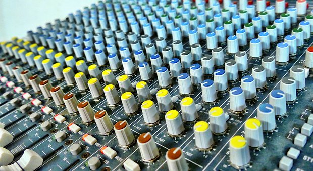 Mixer, Rotary Control, Sound, Controller, Studio, Audio