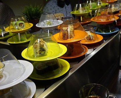 Food, Sushi, Eat, Rice, Asia, Salmon, Japanese, Meal