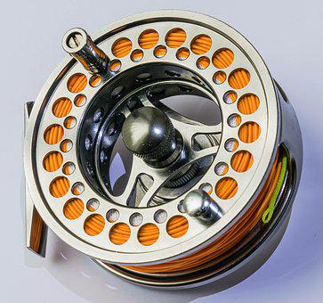 Reel, Fishing, Equipment, Tackle, Angling, Line, Sport