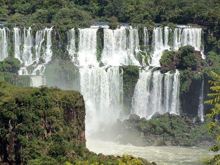 Cataracts, Foz Do Iguaçu, Water Falls, Foz, Iguaçú