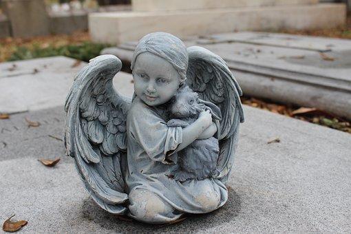 Angel, Cemetery, Death, Graveyard, Grave, Religion