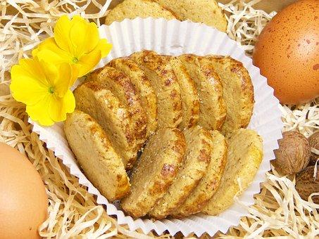 Nerves Biscuits, Hildegard Von Bingen, Egg, Nutmeg