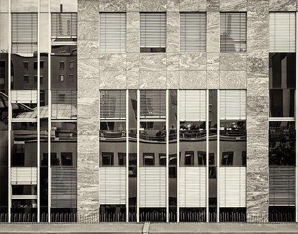 S- Wpark, Architecture, Facade Mirror, Industrial Park
