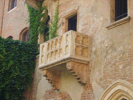 Verona, Balcony, Italy, Balconies, Romeo, Juliette