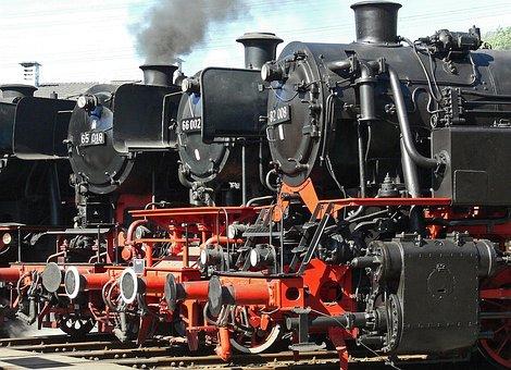 Locomotive Parade, Steam Locomotive, Track Star