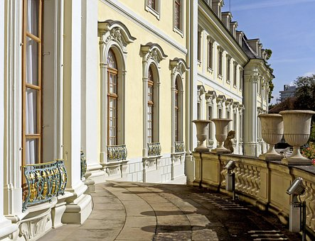 Ludwigsburg Palace, Facade, Details, Classical