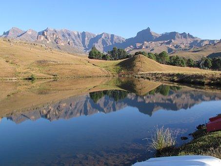 Drakensberg, Kwazulu-natal, Mountain, Mountains