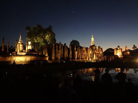 Twilight, Temple Complex, Travel, Places Of Interest