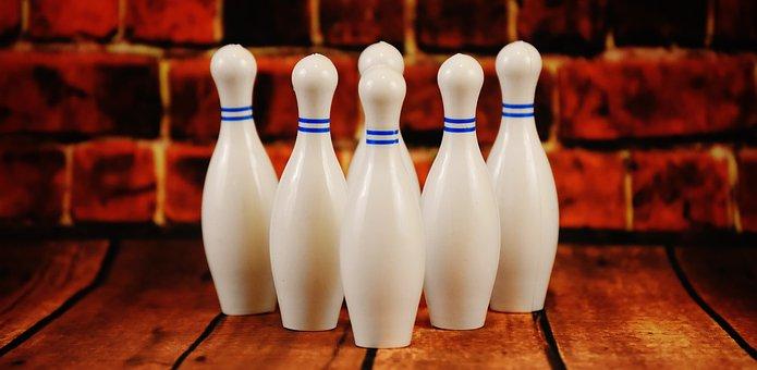 Bowling, White, Plastic