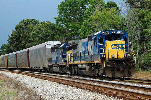 Diesel Train, Tracks, Train, Diesel, Railway, Railroad