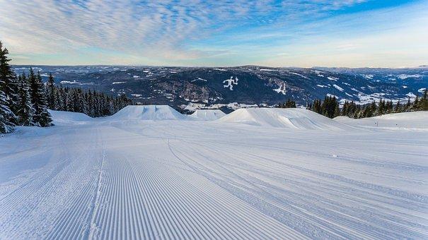 Skiing, Cold, Slopes, Winter, Morning, Ski, Resort