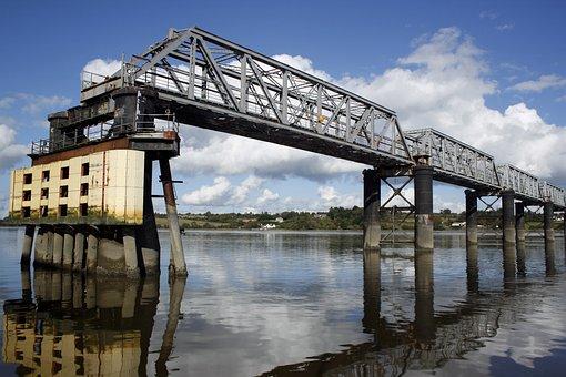 Bridge, River, Railway, Wexford, Kilkenny, Barrow River