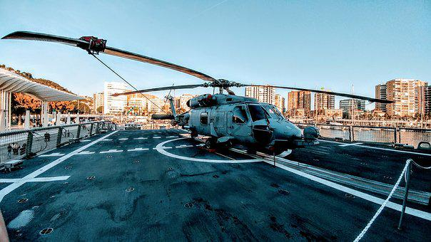 Sh-60b Seahawk, Military, Helicopter