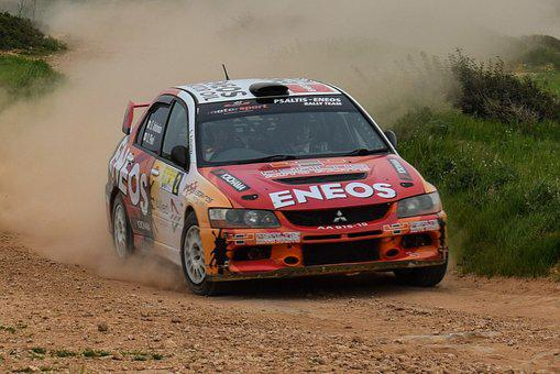 Rally, Race, Car, Speed, Sport, Competition, Racing