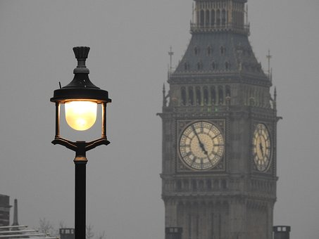 Street Lamp, London, Lamp, Street, England