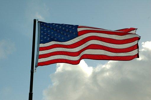 American Flag, Symbol, Patriotic, Flag, American, Usa