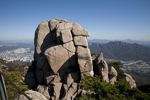 Mountain, The City Of San, Bukhansan Mountain