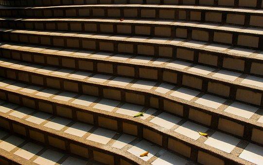 Steps, Stairs, Stairway, Way, Path, Design