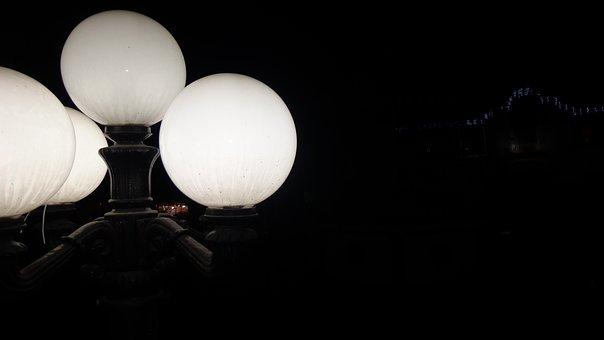 Lighthouses, Lights, Night, Architecture, Spotlights