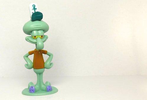 Squidward, Spongebob Squarepants, Bikini Bottom, Tv