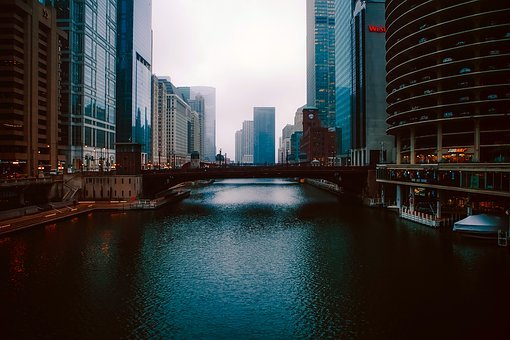 Chicago, Illinois, City, Cities, Urban, Skyline