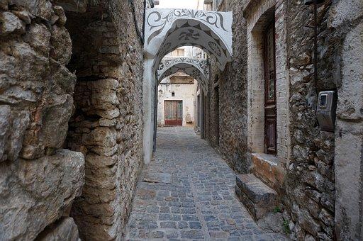 Greece, Greek Island, Village, Chios, Mastiekdorp