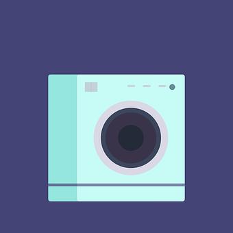 Washing Machine, Device, Electronics, Metal, Cleaning
