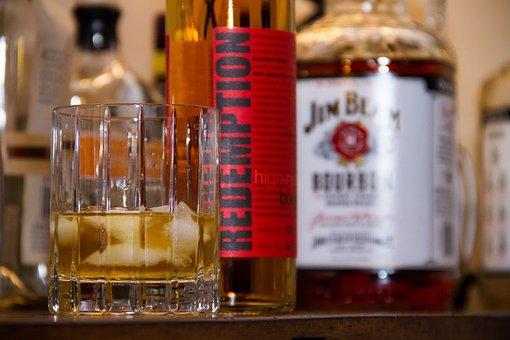 Bourbon, Whiskey, Rye, Alcohol, Beverage, Drink, Glass