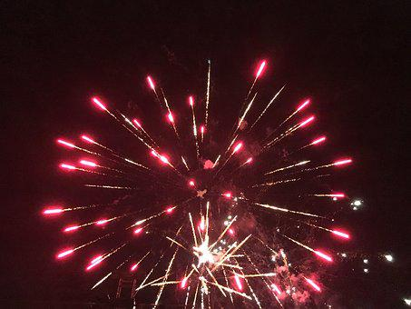 Fireworks, Fire Works, Night, Celebration, Festival