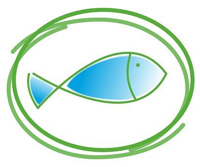 Fish, Baptism, Communion, Church, Faith, Catholic