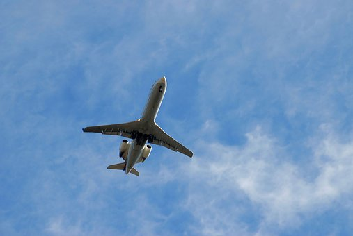 Commercial Jet, Aircraft, Flying, Flight, Jet, Airplane
