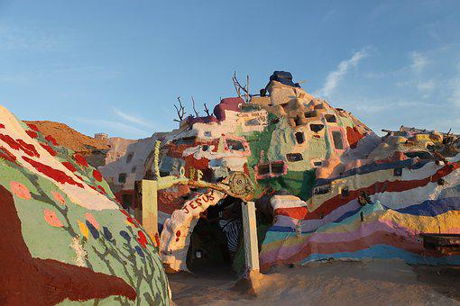 Salvation Mountain, California, Folk Art, Religious