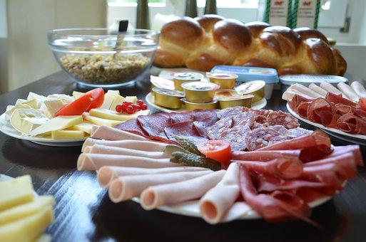 Breakfast, Meat, Food, Sausage Dish, Eat