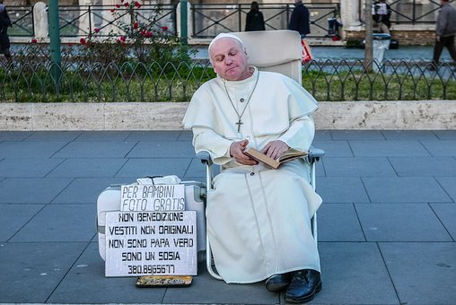 Pope Francis, Pope, Street Artist, Vatican, Francis