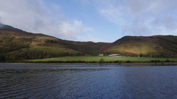 Laggan Locks, Great Glen Way, Scotland, Loch Lochy
