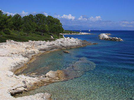 Greece, Paxos, Gios, Ionian, Greek Islands, Summer