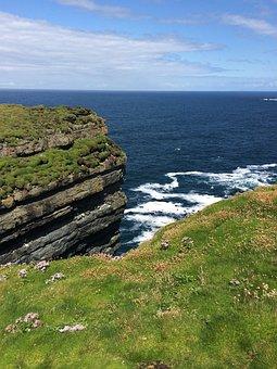 Ireland, Loop Head, Ocean