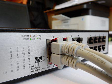 Switch, Network, Data Processing, It, Ethernet