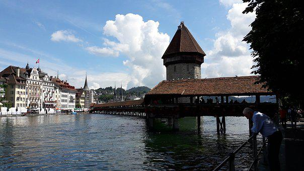 Swiss, Lucerne Hose, Lake