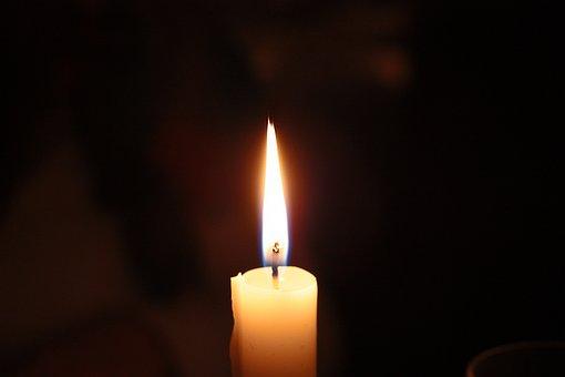Candle, Light, Church, Darkness, Dark, Fire, Flame, Wax