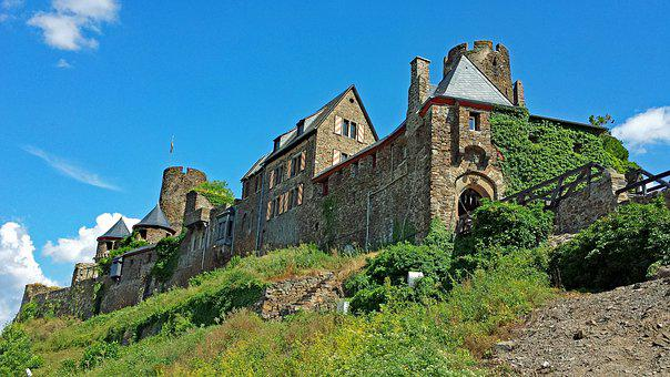 Thurant, Mosel, Sachsen, Germany, Castle, Ruin