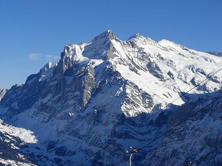 Wengen, Mountains, Bernese Oberland
