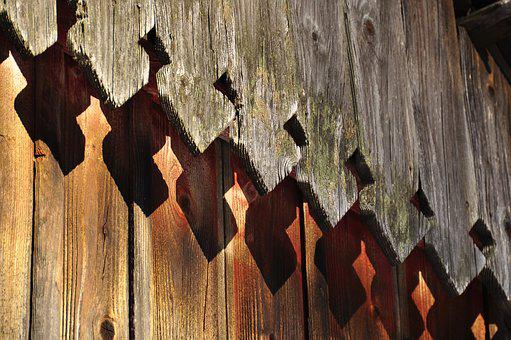 Wood, The Roof Of The, Old, Building, Wooden, Ornament