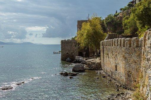 Turkey, Alanya, Port, Summer, Turkish Riviera